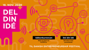 Del din idé ved Danish Entrepreneurship Festival