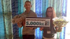 """Administrationsbachelorer fra Absalon vinder """"Årets bachelorprojekt"""""""