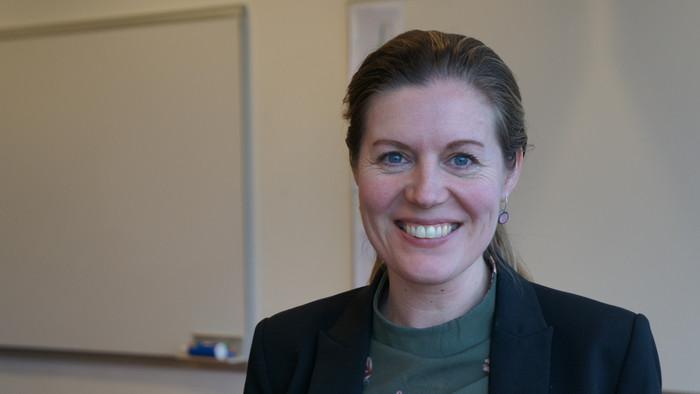 Områdechef for Forskning  Anne Kahr Hällman