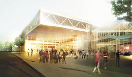Læs om byggeriet af campus Roskilde