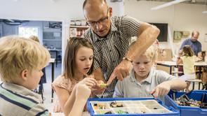 Robotteknologi med LEGO Mindstorm EV3 - gratis workshop