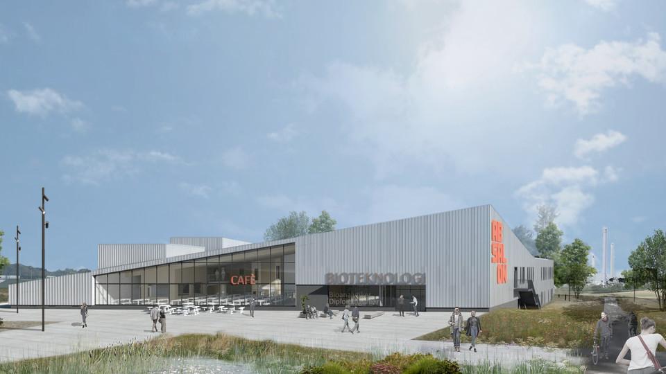 Absalon bygger nyt campus i biotekbyen Kalundborg
