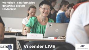 Online workshop: Dataetik, digitalt selvforsvar og dataforståelse i grundskolen