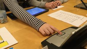 Demokrati i skolen - elever som politikere i Vordingborg Kommune