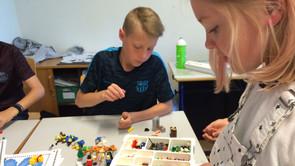 Billeder fra Landsgrav Friskole og finalen i LEGO Storygames