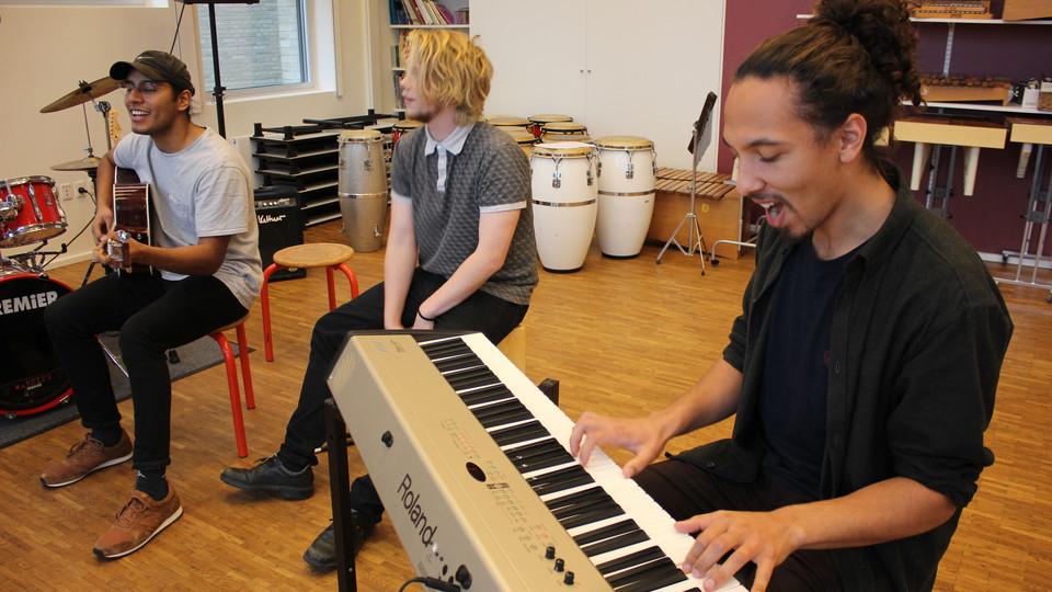 Fremtidens musiklærer uddannes i Roskilde