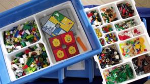 Lego StoryStarter kan anvendes til Lego-fortællinger i grupper