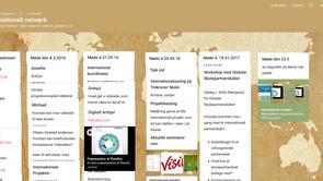 Padlet: Internationalt netværk