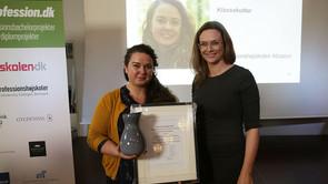 Pris for pædagogisk diplomprojekt til Absalon-dimittend