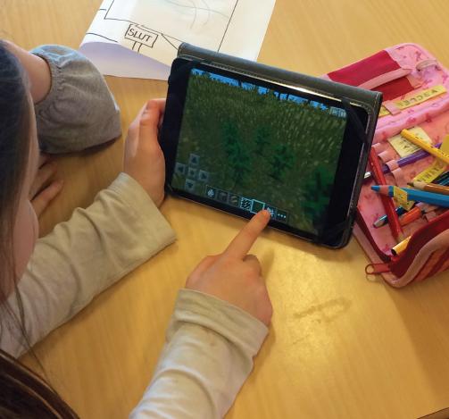 Dansk med Minecraft - et forløb om folkeeventyr