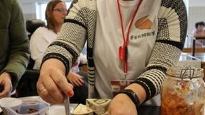 Ernærings- og sundhedsstuderende satte fokus på smag
