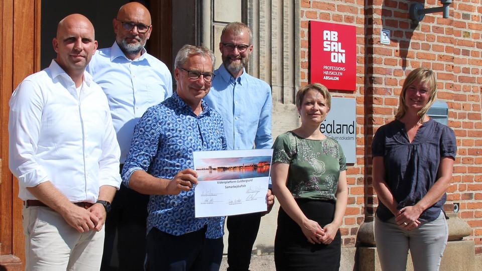 Stærkt samarbejde skal styrke erhvervs- og uddannelsesmiljø i Guldborgsund