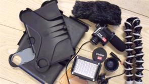 Videostudie - udstyr til mobile enheder (Makayama)