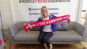 Administrationsbachelor- studerende fik nordmændene til at holde med Danmark ved VM