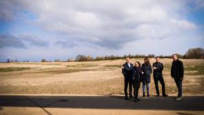 Politikere besøgte byggegrund til Campus Kalundborg