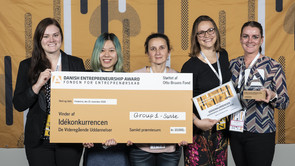 Students win competition at Danish Entrepreneurship Awards 2018