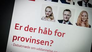 Politikere debatterede uddannelse i Næstved