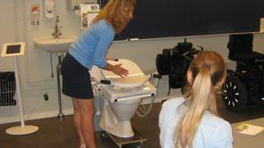 Elektronisk toilet forbereder UCSJ-studerende på fremtiden