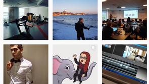 Følg internationale studerende på Instagram