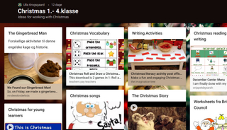 Padlet: Christmas 1.-4.klasse - Ideas for working with Christmas