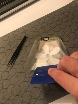 Overfør designs med tape