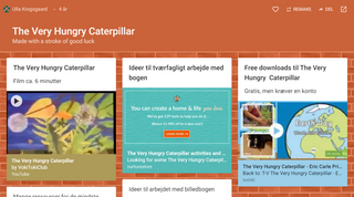 Padlet: The Very Hungry Caterpillar